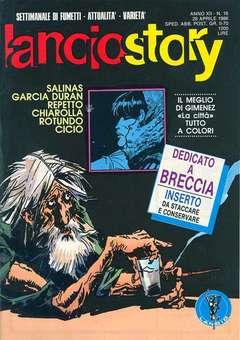 Copertina LANCIOSTORY ANNO 12 n.16 - LANCIOSTORY 1986   16, EDITORIALE AUREA