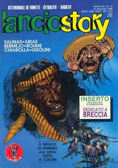 Copertina LANCIOSTORY ANNO 12 n.18 - LANCIOSTORY 1986   18, EDITORIALE AUREA