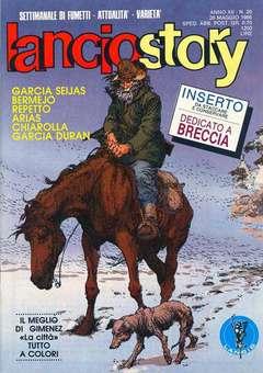 Copertina LANCIOSTORY ANNO 12 n.20 - LANCIOSTORY 1986   20, EDITORIALE AUREA