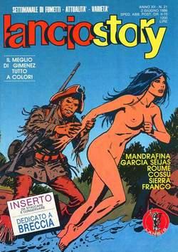 Copertina LANCIOSTORY ANNO 12 n.21 - LANCIOSTORY 1986   21, EDITORIALE AUREA