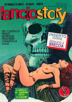 Copertina LANCIOSTORY ANNO 12 n.22 - LANCIOSTORY 1986   22, EDITORIALE AUREA