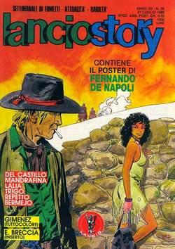 Copertina LANCIOSTORY ANNO 12 n.28 - LANCIOSTORY 1986   28, EDITORIALE AUREA