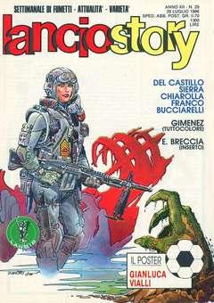 Copertina LANCIOSTORY ANNO 12 n.29 - LANCIOSTORY 1986   29, EDITORIALE AUREA
