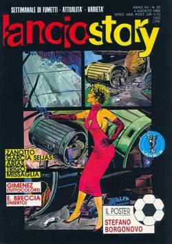 Copertina LANCIOSTORY ANNO 12 n.30 - LANCIOSTORY 1986   30, EDITORIALE AUREA