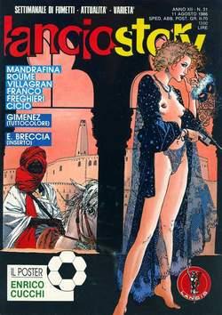 Copertina LANCIOSTORY ANNO 12 n.31 - LANCIOSTORY 1986   31, EDITORIALE AUREA