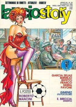 Copertina LANCIOSTORY ANNO 12 n.33 - LANCIOSTORY 1986   33, EDITORIALE AUREA