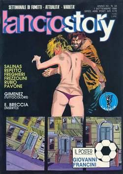 Copertina LANCIOSTORY ANNO 12 n.34 - LANCIOSTORY 1986   34, EDITORIALE AUREA