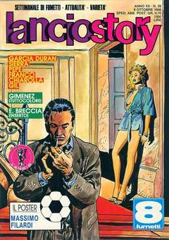 Copertina LANCIOSTORY ANNO 12 n.39 - LANCIOSTORY 1986   39, EDITORIALE AUREA