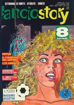 Copertina LANCIOSTORY ANNO 12 n.43 - LANCIOSTORY 1986   43, EDITORIALE AUREA