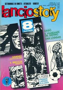 Copertina LANCIOSTORY ANNO 12 n.48 - LANCIOSTORY 1986   48, EDITORIALE AUREA