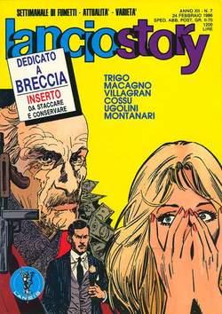 Copertina LANCIOSTORY ANNO 12 n.7 - LANCIOSTORY 1986    7, EDITORIALE AUREA