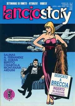 Copertina LANCIOSTORY ANNO 12 n.8 - LANCIOSTORY 1986    8, EDITORIALE AUREA