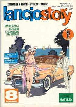 Copertina LANCIOSTORY ANNO 13 n.11 - LANCIOSTORY 1987   11, EDITORIALE AUREA