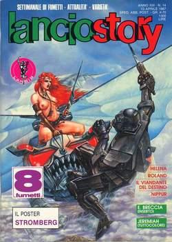 Copertina LANCIOSTORY ANNO 13 n.14 - LANCIOSTORY 1987   14, EDITORIALE AUREA