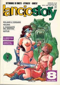Copertina LANCIOSTORY ANNO 13 n.20 - LANCIOSTORY 1987   20, EDITORIALE AUREA