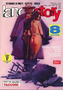 Copertina LANCIOSTORY ANNO 13 n.32 - LANCIOSTORY 1987   32, EDITORIALE AUREA