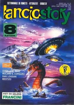 Copertina LANCIOSTORY ANNO 13 n.37 - LANCIOSTORY 1987   37, EDITORIALE AUREA