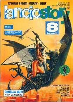 Copertina LANCIOSTORY ANNO 13 n.43 - LANCIOSTORY 1987   43, EDITORIALE AUREA