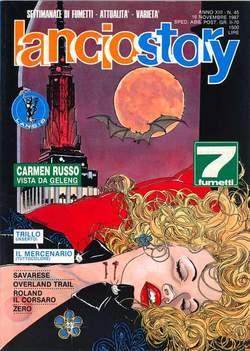 Copertina LANCIOSTORY ANNO 13 n.45 - LANCIOSTORY 1987   45, EDITORIALE AUREA