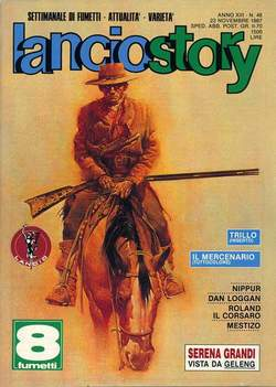 Copertina LANCIOSTORY ANNO 13 n.46 - LANCIOSTORY 1987   46, EDITORIALE AUREA