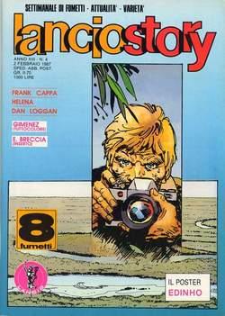 Copertina LANCIOSTORY ANNO 13 n.4 - LANCIOSTORY 1987    4, EDITORIALE AUREA