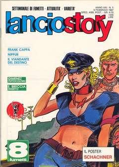 Copertina LANCIOSTORY ANNO 13 n.5 - LANCIOSTORY 1987    5, EDITORIALE AUREA