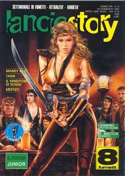 Copertina LANCIOSTORY ANNO 13 n.6 - LANCIOSTORY 1987    6, EDITORIALE AUREA
