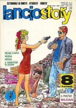 Copertina LANCIOSTORY ANNO 13 n.9 - LANCIOSTORY 1987    9, EDITORIALE AUREA