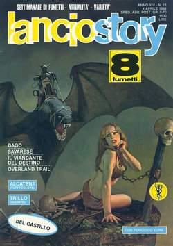 Copertina LANCIOSTORY ANNO 14 n.13 - LANCIOSTORY 1988   13, EDITORIALE AUREA