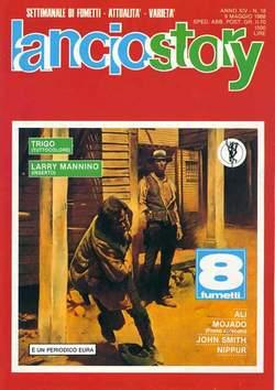 Copertina LANCIOSTORY ANNO 14 n.18 - LANCIOSTORY 1988   18, EDITORIALE AUREA