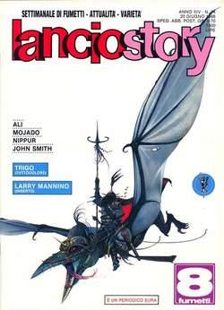 Copertina LANCIOSTORY ANNO 14 n.24 - LANCIOSTORY 1988   24, EDITORIALE AUREA