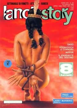 Copertina LANCIOSTORY ANNO 14 n.28 - LANCIOSTORY 1988   28, EDITORIALE AUREA