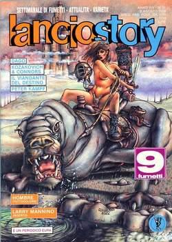 Copertina LANCIOSTORY ANNO 14 n.31 - LANCIOSTORY 1988   31, EDITORIALE AUREA