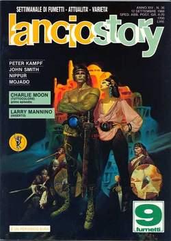 Copertina LANCIOSTORY ANNO 14 n.36 - LANCIOSTORY 1988   36, EDITORIALE AUREA