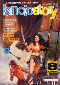 Copertina LANCIOSTORY ANNO 14 n.43 - LANCIOSTORY 1988   43, EDITORIALE AUREA