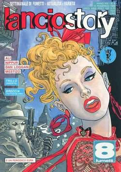 Copertina LANCIOSTORY ANNO 14 n.6 - LANCIOSTORY 1988    6, EDITORIALE AUREA