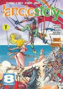 Copertina LANCIOSTORY ANNO 14 n.8 - LANCIOSTORY 1988    8, EDITORIALE AUREA