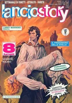 Copertina LANCIOSTORY ANNO 15 n.10 - LANCIOSTORY 1989   10, EDITORIALE AUREA