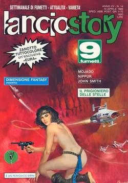 Copertina LANCIOSTORY ANNO 15 n.14 - LANCIOSTORY 1989   14, EDITORIALE AUREA