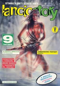 Copertina LANCIOSTORY ANNO 15 n.15 - LANCIOSTORY 1989   15, EDITORIALE AUREA