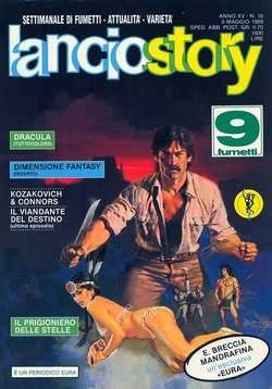 Copertina LANCIOSTORY ANNO 15 n.18 - LANCIOSTORY 1989   18, EDITORIALE AUREA