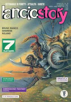 Copertina LANCIOSTORY ANNO 15 n.19 - LANCIOSTORY 1989   19, EDITORIALE AUREA
