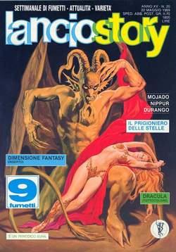 Copertina LANCIOSTORY ANNO 15 n.20 - LANCIOSTORY 1989   20, EDITORIALE AUREA