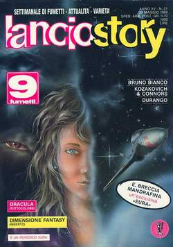 Copertina LANCIOSTORY ANNO 15 n.21 - LANCIOSTORY 1989   21, EDITORIALE AUREA