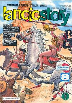 Copertina LANCIOSTORY ANNO 15 n.26 - LANCIOSTORY 1989   26, EDITORIALE AUREA