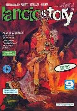 Copertina LANCIOSTORY ANNO 15 n.34 - LANCIOSTORY 1989   34, EDITORIALE AUREA