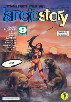 Copertina LANCIOSTORY ANNO 15 n.37 - LANCIOSTORY 1989   37, EDITORIALE AUREA