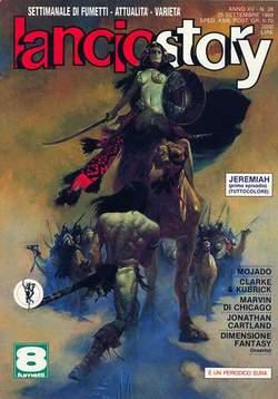 Copertina LANCIOSTORY ANNO 15 n.38 - LANCIOSTORY 1989   38, EDITORIALE AUREA