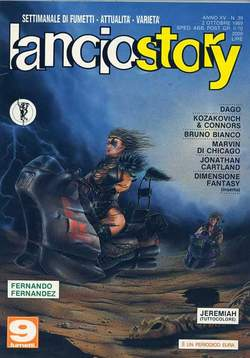 Copertina LANCIOSTORY ANNO 15 n.39 - LANCIOSTORY 1989   39, EDITORIALE AUREA