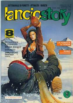 Copertina LANCIOSTORY ANNO 15 n.52 - LANCIOSTORY 1989   52, EDITORIALE AUREA